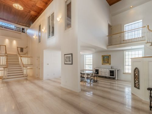 A 171-year-old church in Connecticut that was converted into a 3-bedroom home just hit the market for the first time in 50 years. Here's a look inside