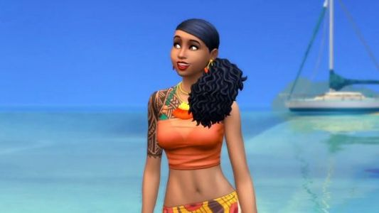 With Island Living, The Sims 4 introduces its first pre-made transgender character