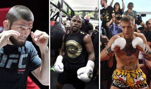 Floyd Mayweather in talks to face UFC stars Conor McGregor and Khabib. on the same day