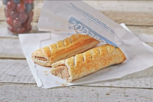 Greggs releases a black 'concierge card' that delivers free food to your door wherever you are