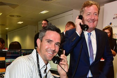 Kevin Pietersen's Twitter account locked after threat to slap Piers Morgan