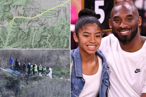 Kobe Bryant's helicopter 'plummeted 500ft in 15 seconds' on doomed 39 minute flight