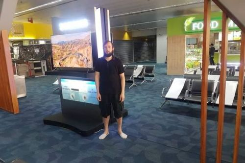 Tourist stuck living in airport departures for 110 days in coronavirus lockdown