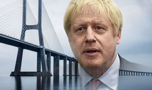 Boris's vision for Scotland and Northern Ireland bridge was really designed 130 YEARS AGO