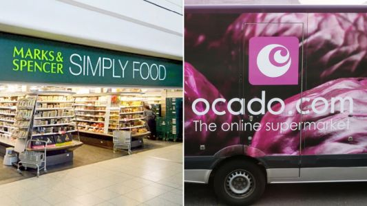 When can you buy M&S food from Ocado and what are the delivery prices?