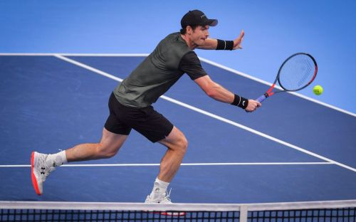 Andy Murray has a laugh in reaching European Open semi-final