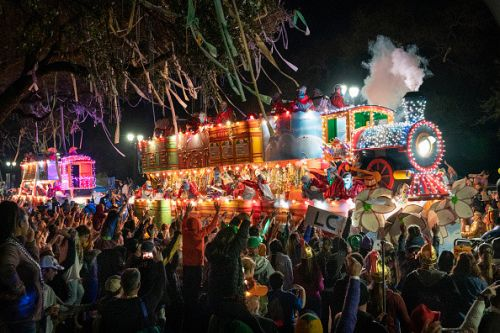 What does Mardi Gras mean and when does it take place?