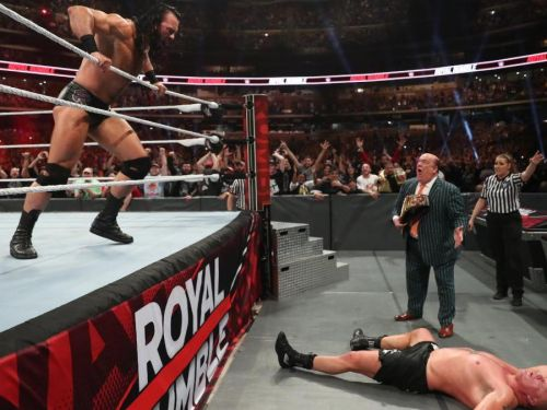 Who won WWE Royal Rumble 2020? results, match ratings and recap as Scotland's Drew McIntyre is victorious