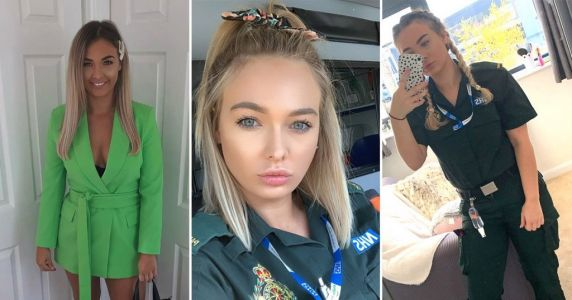 NHS paramedic gets hateful comments from trolls shaming her for wearing makeup at work