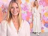 Gwyneth Paltrow looks chic in cream top and maxi skirt for screening of her new series in LA