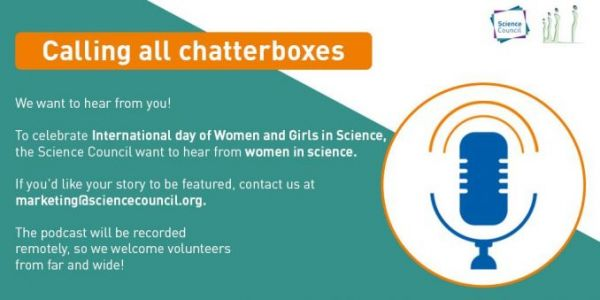 Podcasts for International Day of Women and Girls in Science