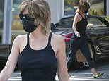 RHOBH star Lisa Rinna wears precautionary mask and gloves for shopping trip out in LA