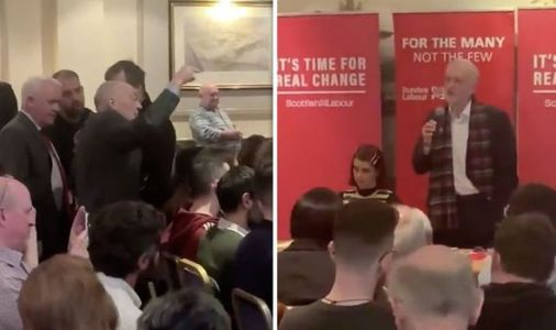 Jeremy Corbyn faces brutal heckling AGAIN as furious Scottish voter attacks Labour leader