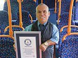 Man named world's shortest bus driver measuring 4ft 5.6 inches tall