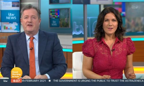 Piers Morgan and Susanna Reid admit relationship is 'testy' after heated argument on air
