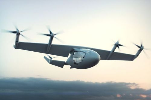 Rolls Royce unveils luxury flying TAXI concept - and it could hit skies by 2020