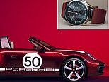 Porsche's roofless retro ride costs £137k and has a £10k matching watch