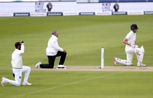 Rain restricts England and West Indies on cricket's long-awaited return