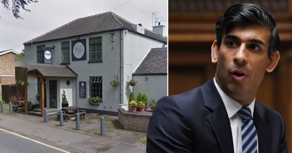 Rishi Sunak banned from local pub after voting against free school meals