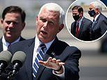 Mike Pence had to postpone trip Arizona after Secret Service agents tested positive for coronavirus