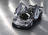 Supremely rare McLaren F1 with an engine bay bathed in GOLD sells for a record $19.8m
