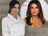 Victoria Beckham and Eva Longoria have been keeping in touch with 'wine o'clock Zooms'