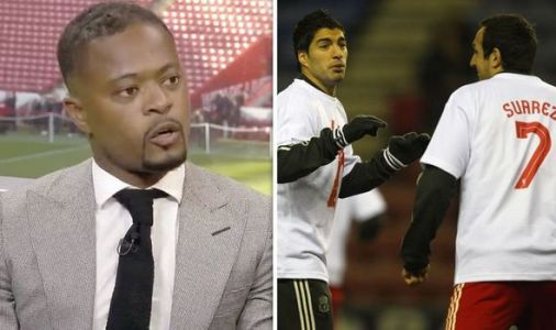 Liverpool send letter to Patrice Evra after Man Utd hero's complaints about Luis Suarez