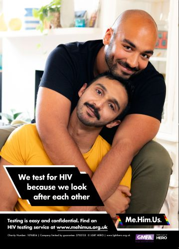 Gay and bisexual South Asian men launch HIV test campaign to help diversify queer spaces