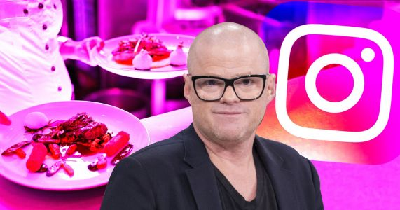 Heston Blumenthal gets annoyed when diners take pictures of their meals for Instagram