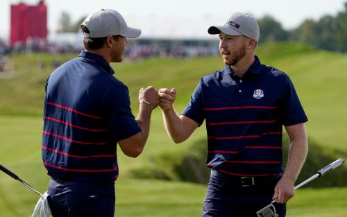 Dominant USA lay down foursomes marker to leave slow-starting Europe facing uphill battle