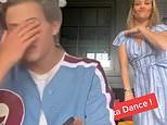 Reese Witherspoon hilariously embarrasses her son Deacon, 16, with TikTok video