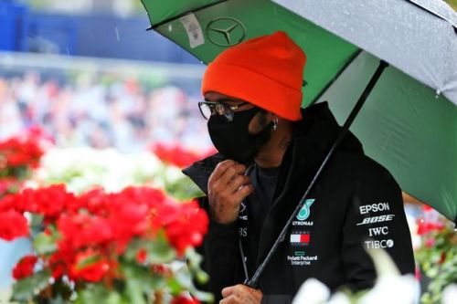 F1 qualifying results in full as Lewis Hamilton dominates in pouring rain
