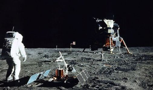 Moon landing shock: Apollo 11 was so LOW-TECH Aldrin used sundial to calibrate experiments