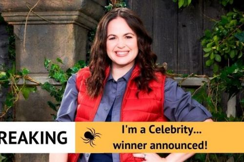 Giovanna Fletcher crowned winner of I'm A Celebrity 2020 in close live final