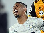 Pep Guardiola's injury crisis deepens as Gabriel Jesus becomes latest Man City ace to be struck down