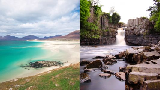 Seven amazing beauty spots around the UK for your at-home vacation
