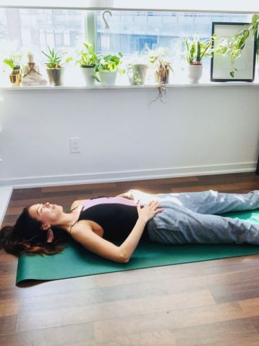 Simple Yoga Poses To Help Calm Your Anxiety During The Pandemic