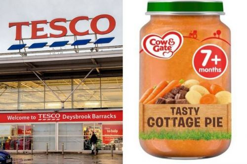 Tesco urgently recalls Cow & Gate baby food that 'may have been tampered with'