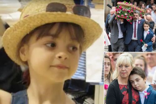 'People's love kept us going after losing Saffie': Family of youngest Manchester bombing victim reveal heartbreaking ordeal