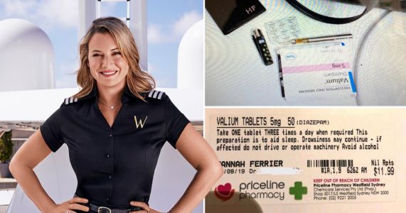 Pregnant Below Deck star Hannah Ferrier shuts down drug accusations after tense episode