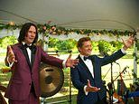 Keanu Reeves and Alex Winter suit up in sharp looks in latest look at Bill & Ted Face the Music