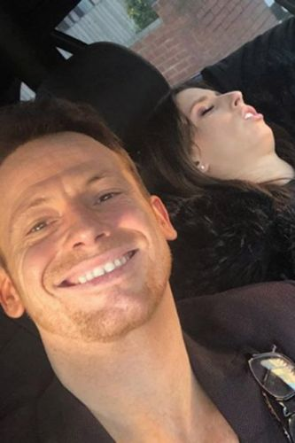 Joe Swash mocks pregnant girlfriend Stacey Solomon with hilarious snap following baby announcement