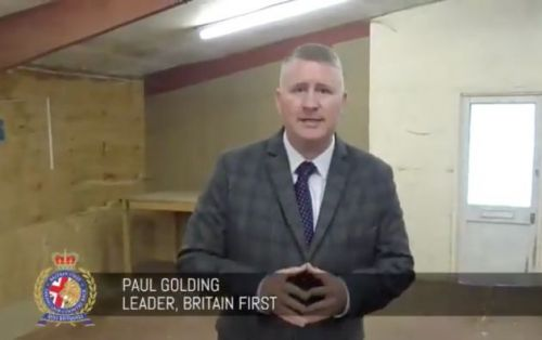 Far-Right Group Britain First Is Setting Up A 'Training Centre' In London