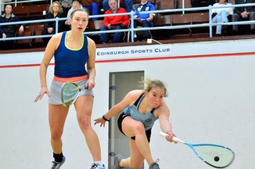 """First class degree has Katriona Allen set for """"real go"""" at professional squash"""