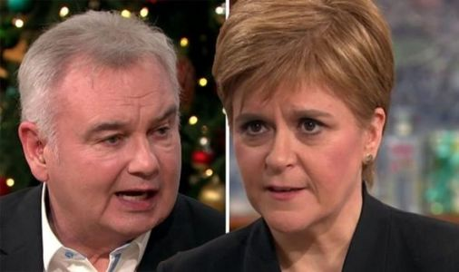 Sturgeon tells Eamonn Holmes THREE things Corbyn must do to get SNP support