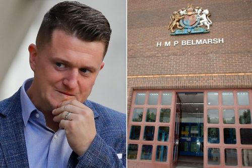 Tommy Robinson 'punched in prison shower by man, 70, for acting like a celebrity'