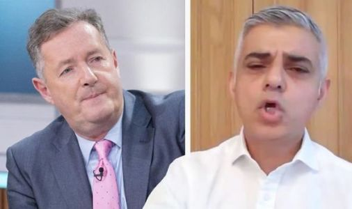 Sadiq Khan lashes out at Piers Morgan in face mask row 'I was outdoors and distanced!'