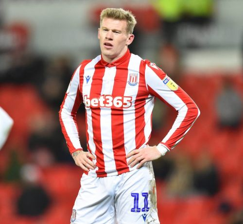 Stoke City fine Ireland ace James McClean two weeks' wages over balaclava photo in deleted Instagram post