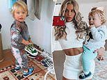 Skye Wheatley spends $260 on sneakers for her one-year-old son Forest