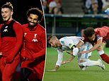 Harvey Elliott CONFIRMS he snubbed the chance to meet Sergio Ramos due to Mo Salah incident